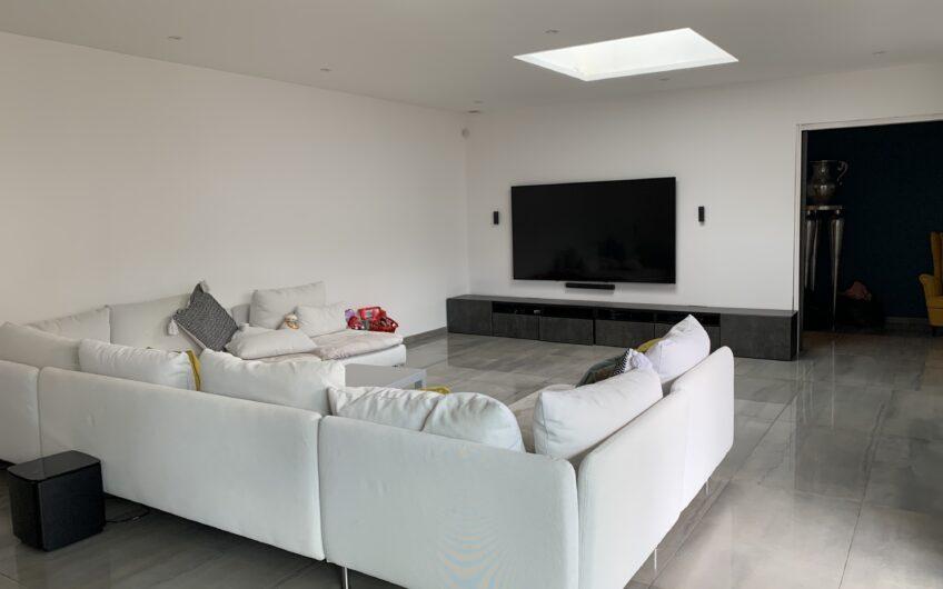 Maison individuelle contemporaine cubique de 170m²